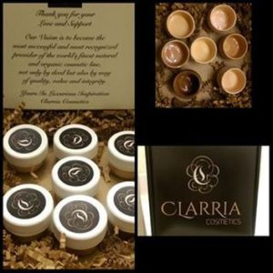 clarria cosmetics - Social Fashionista Beauty