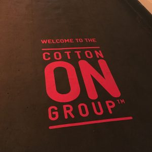 WETHERLY GROUP X COTTON ON EVENT