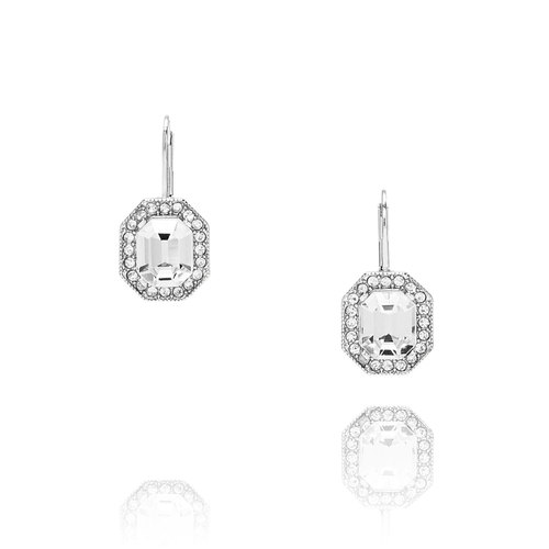 Art Deco Octagon Drop Earrings