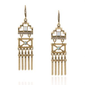 Stepwells Statement Earrings